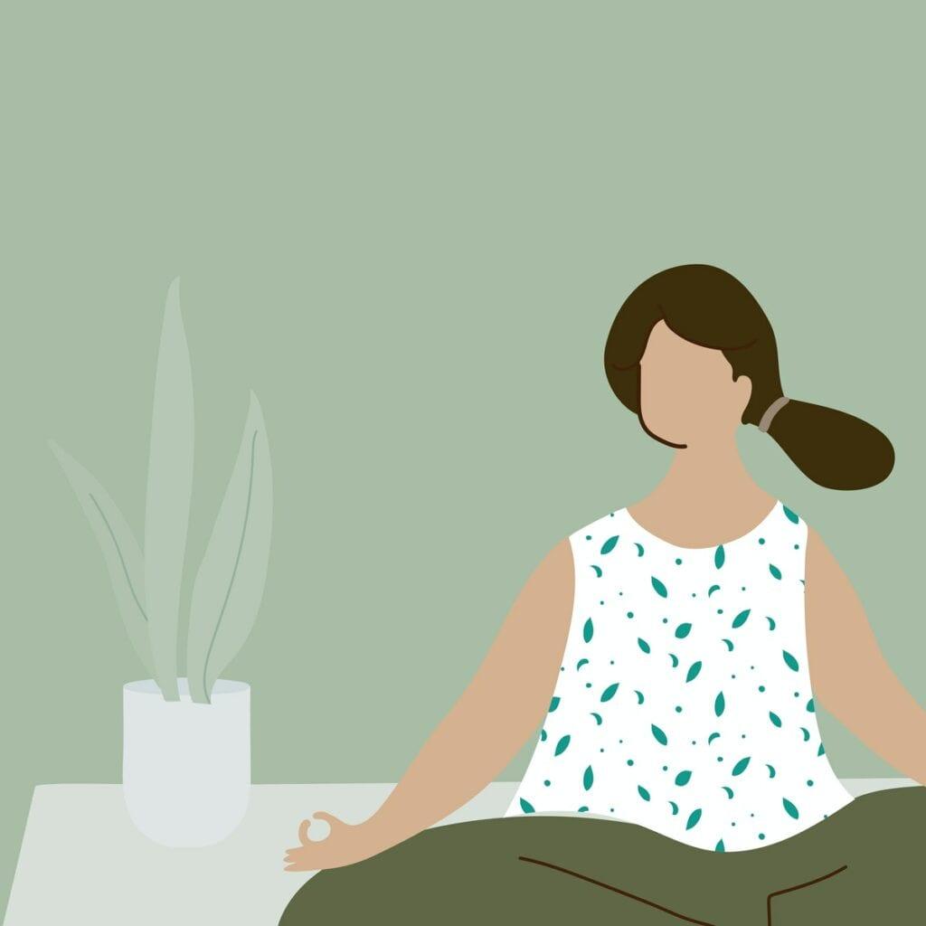 illustration-woman-doing-yoga-meditation