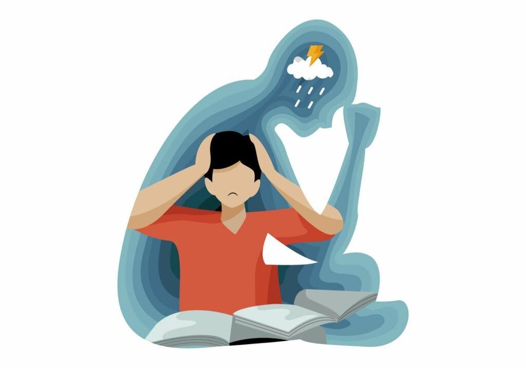 depression-people-affect-on-mental-health-illustration